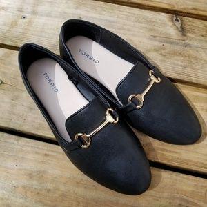 Torrid Flat Black Wide Width Shoes